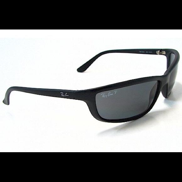 5657057384a Ray ban matte black polarized sunglasses 4034. M 5c6da9ef2beb796e38dcaf2e